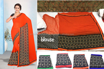 Shivani -2 weightless border attached banglori saree