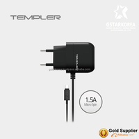 [TEMPLER] 1.5V Travel Wall Charger Micro USB for Samsung SmartPhone