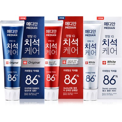 Median AD products 120G*3 set Personal Care Health Whitening herbal natural Toothpaste