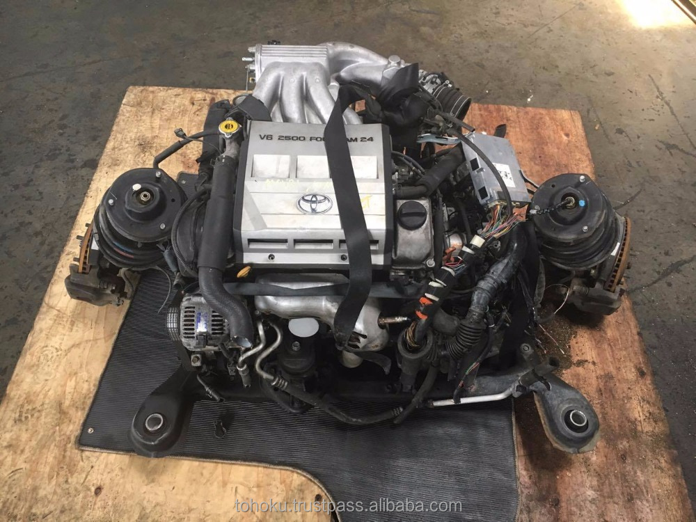 Used Engine Toyota 2MZ a/t 2wd (set cpu) | Japanese used auto parts/used engine of toyota/used car engine/used gasoline engine