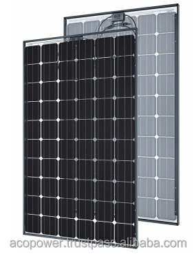 ACOPOWER 270w Solar Panel, Mono All Black