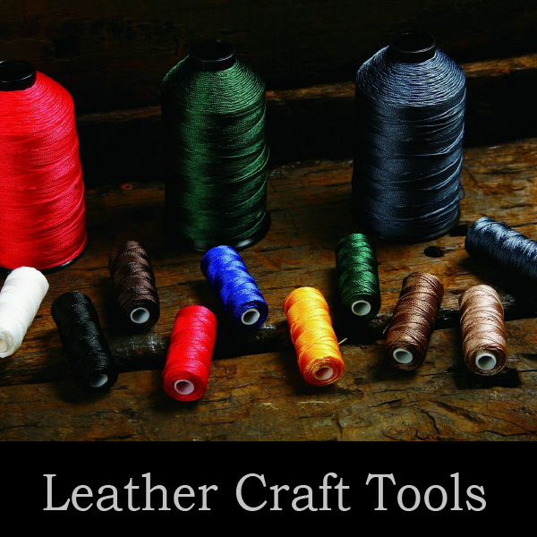 Reliable and Easy to use waxed cotton thread with wide variations