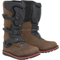 boots mens leather motocross shoes atv boots dirt biker shoes