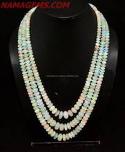 Aaa Top Quality Ethiopian Opal Beads Necklace