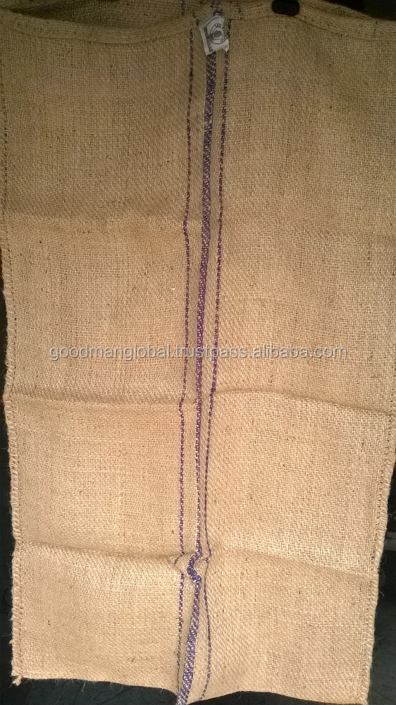 Standard Binola Twill 90 - 100 kg Jute gunny sacking Bags (Food grade & Regular) - corn, flour, rice & other agricultural usage