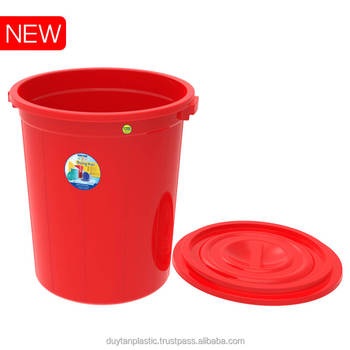 PP PLASTIC RED BLUE CONTAINER BOX - 120L No. 847-huynhthithanhthao@duytan.com