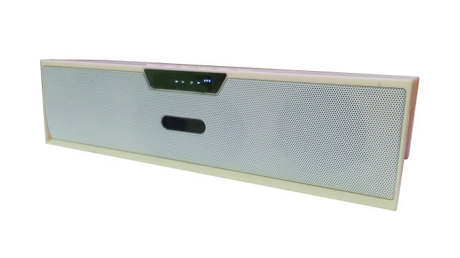 BLUETOOTH SPEAKER WITH FM RADIO AND RECHARGABLE BATTERY