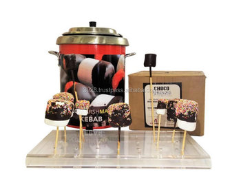 Choco-marshmallow Kebab system - Affordable unique Eye catching