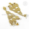 Supplier 925 Silver Gold Plated Earring
