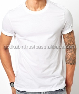 Classy/comfortable/most demand/New Mens best offer base wholesale plain white t shirts / cheap plain white t-shirts.