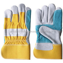 Manufacturers mechanics working leather glove for construction in pakistan