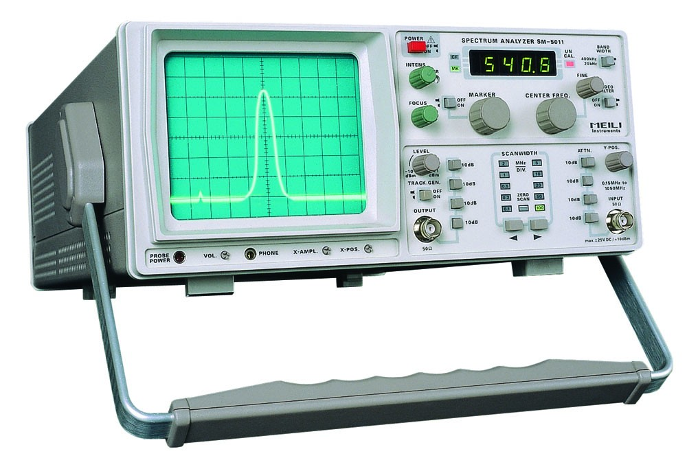 Auto Testing Machine SM-5010 /SM-5011 150KHz~1050MHz Spectrum Analyzer with Tracking Signal Generator Educational instrument