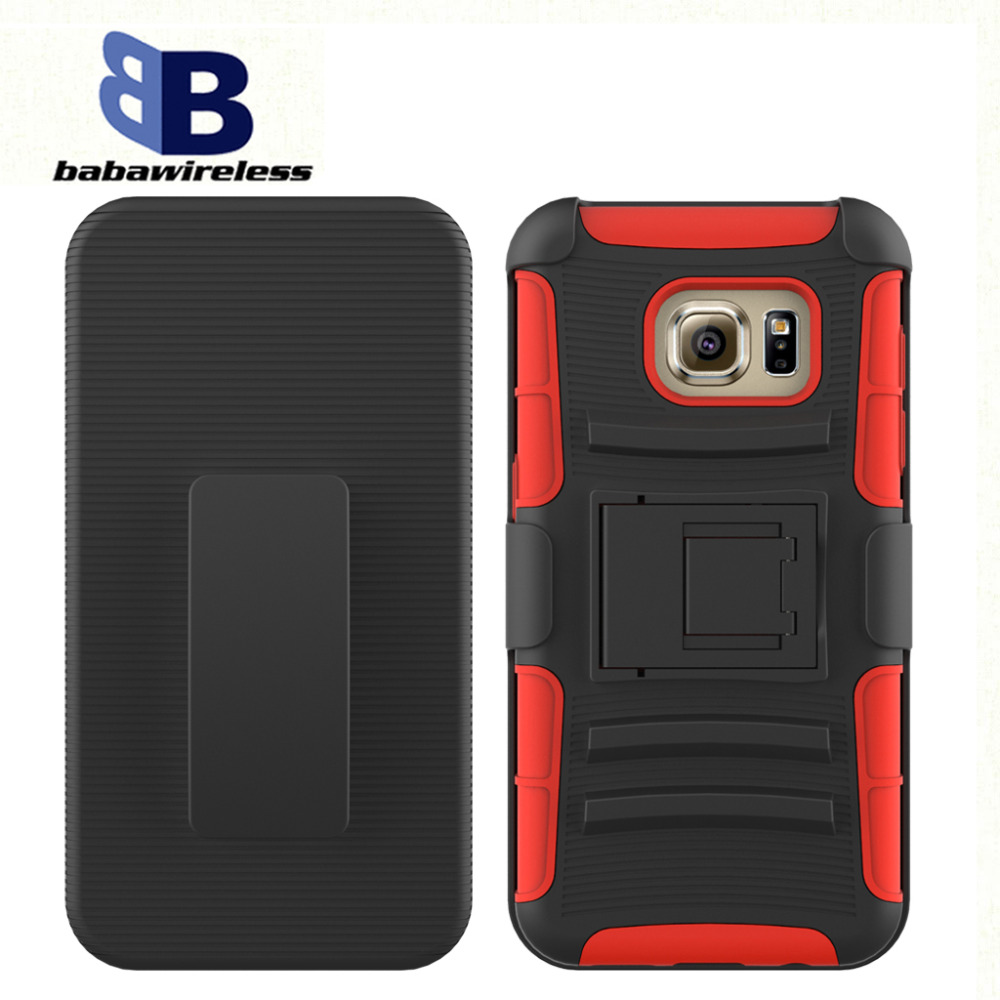 Mobile Phone Case with PC+silicone matrial robot case hybrid kickstand For LG phone shell