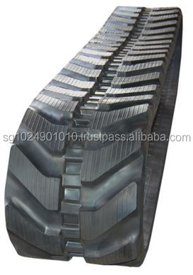 Staggered Zigzag Rubber Track