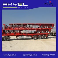 Direct Factory 3 Axle 40FT Flatbed Trailer For Sale/semi trailer flatbed