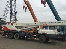 Zoomlion 25 Ton Used Mini Crane From China , Four Section Boom