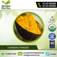 Naturally Yellow Colour Turmeric Powder from ISO Certified Company