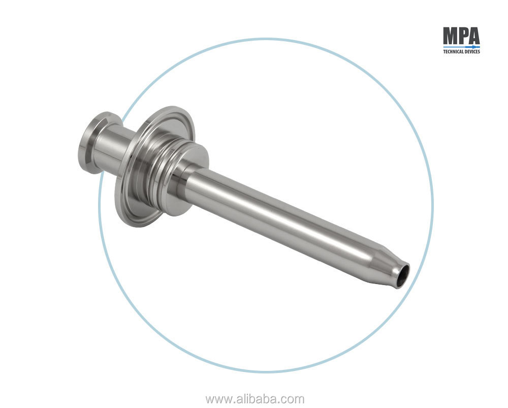 MPA TECHNICAL DEVICES - PHARMACEUTICAL STAINLESS STEEL - FILLING NOZZLES FOR STERILE ASEPTIC MACHINES