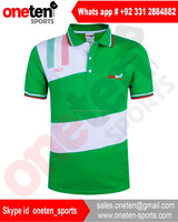 Polo shirts with Italy flag