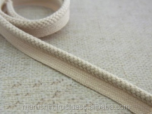 Organic and High quality piping cord for manufactures for baby clothes , other also available