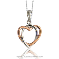 Sweethearts Interlocking Pendant Code No.: CP-4378-1