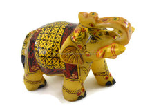 Marble Elephant Wholesale Indian Handicraft Handmade with Miniature Painting