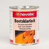 Novatic Satin gloss clear varnish for boats / ships / canoe 375 ml - Made in Germany