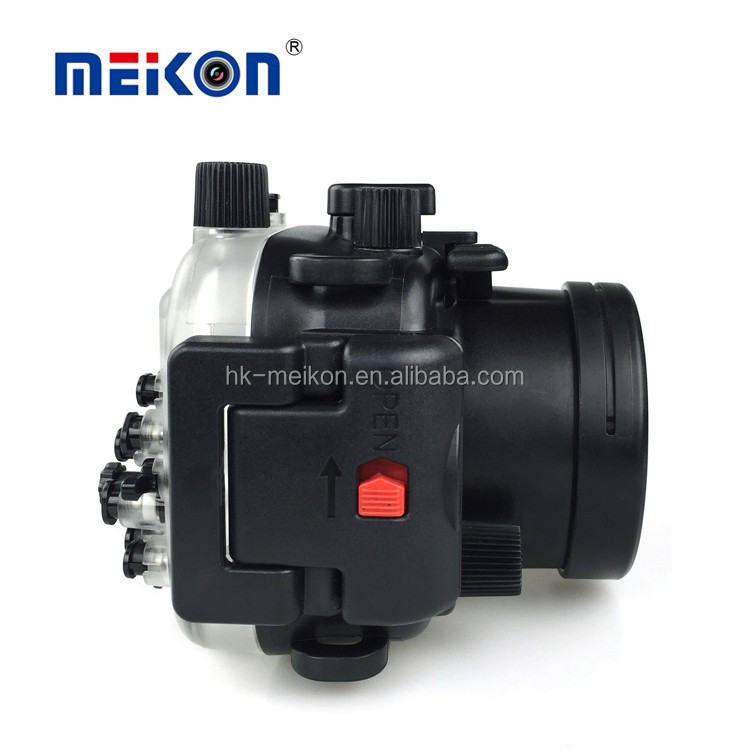 Meikon New Waterproof Camera Case For Canon G7X Mark II 40M/130FT Underwater Housing