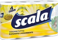 Scala Cleaning Paper Roll 4RT