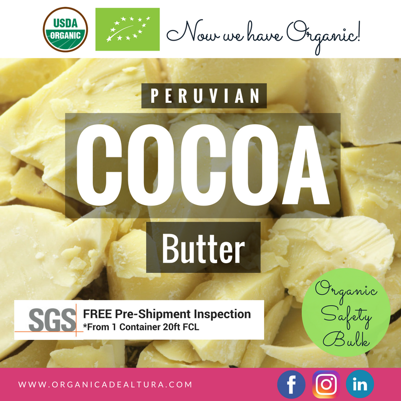 Cocoa Butter Wholesale - Best price - Bulk