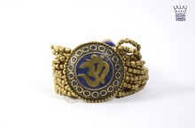 Neha Metal Om Bracelet Cuff New Design In Style Modern Trendy Different colors available