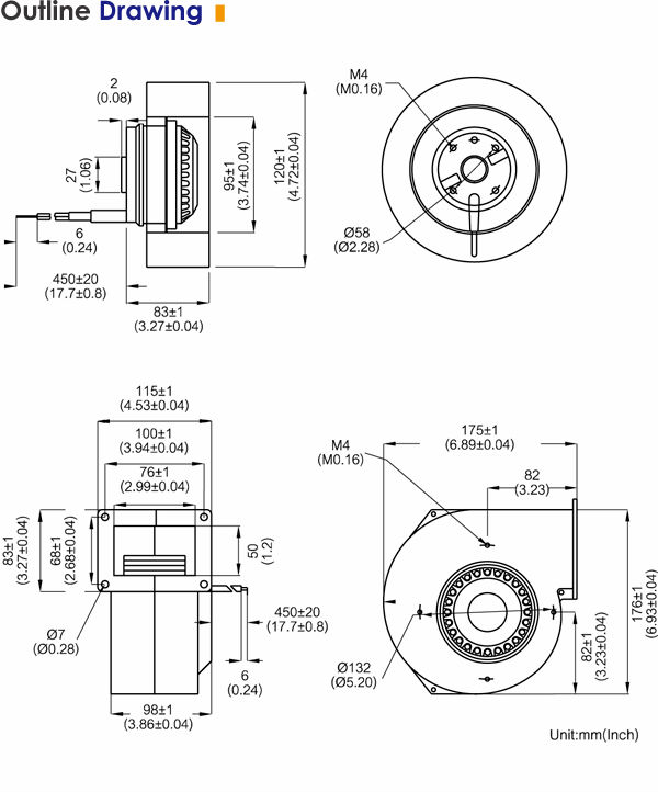 Centrifugal Blower Diagram : Centrifugal supercharger diagram