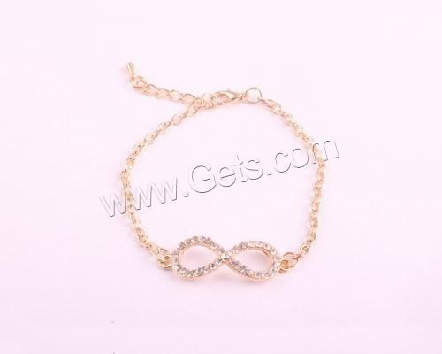 brass copper bronze Chain Zinc Alloy Charm Bracelets with brass copper bronze chain
