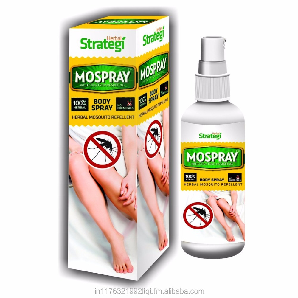 Mospray 100% Natural Mosquito Repellent Body Spray 100ml