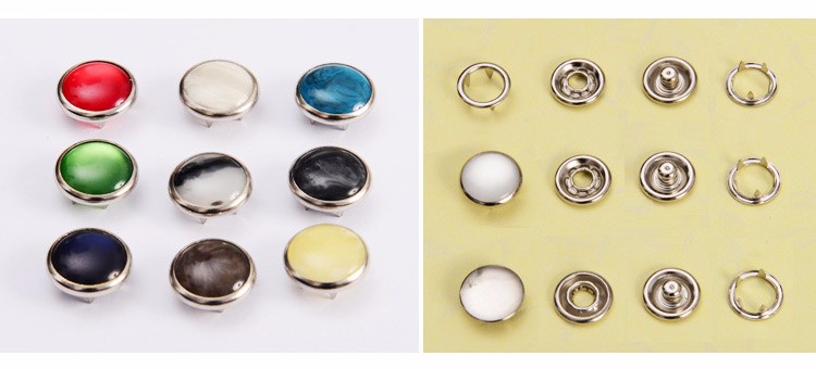 fashion Snap Ring Buttons