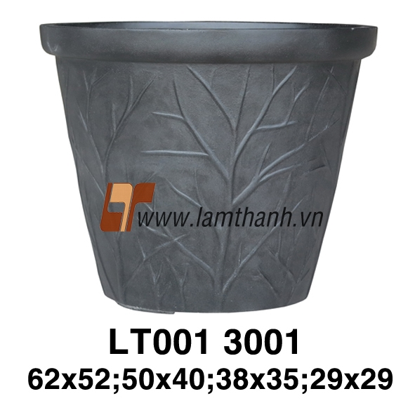 Vietnam Pattern Stylish Black Painted Pottery For Manufacturer
