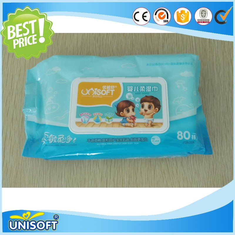 OEM Disposable skincare wet wipes with good quality09