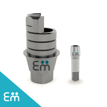 Anti-Rotational Ti-Base CAD/CAM Interface for Osstem TS, Dentium, MegaGen AnyOne RP