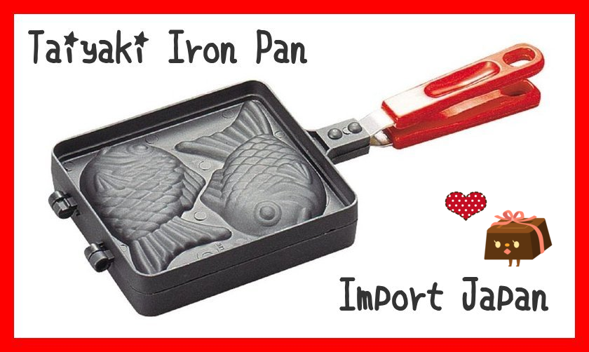 taiyaki pan for cooking best selling import Japan