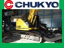 < SOLD OUT > USED SUMITOMO EXCAVATORS AUTOMOTIVE RECYCLING SH235XLC-6 FORM JAPAN