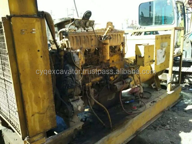Used CAT 3400 generator set for sale