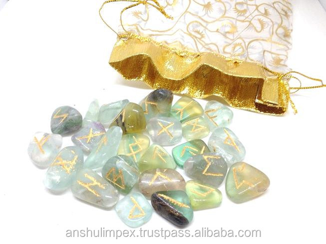 Wholesale Fluorite rune sets, runes stones, wholesale runes.
