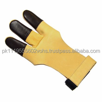 Archers Leather Shooting Gloves