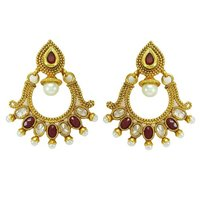 Indian Bollywood Ethnic Dangle Earring Bridal Asian Traditional jewelry Gift For Her -BSE5238C