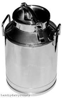 5 Liter Stainless Steel Cowbell Milk Can