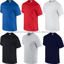 solid color t shirts / 95 cotton 5 spandex muscle mens tight fit t shirt /dye sublimation printed