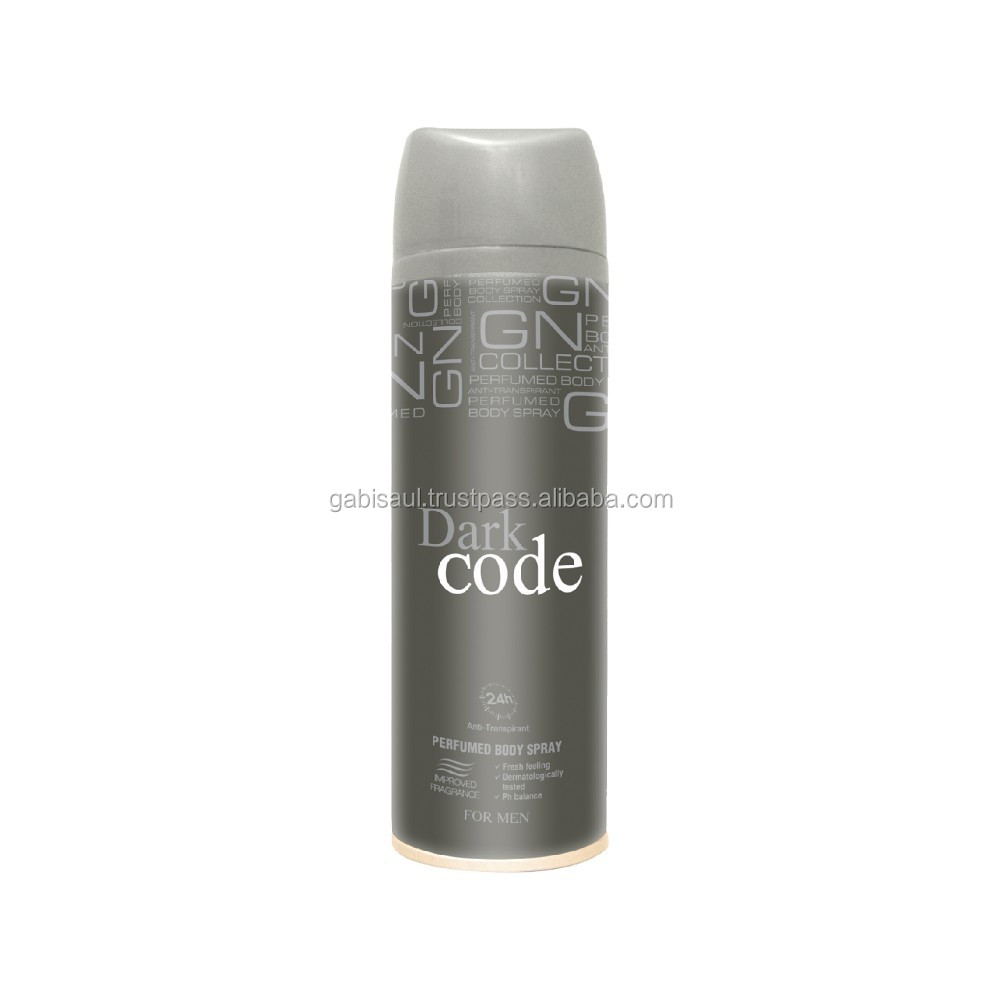 Gn Collection Body Spray For Men Dark Code