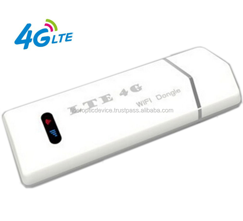 USB Type LTE 4G FDD Wireless Dongle with SIM Card