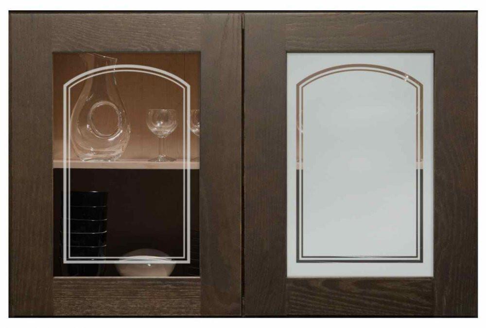 Sandblast Glass Kitchen Cabinet - Buy Modern Kitchen Cabinets ...