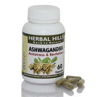 Herb Withania Somnifera Capsules Ashwagandha For